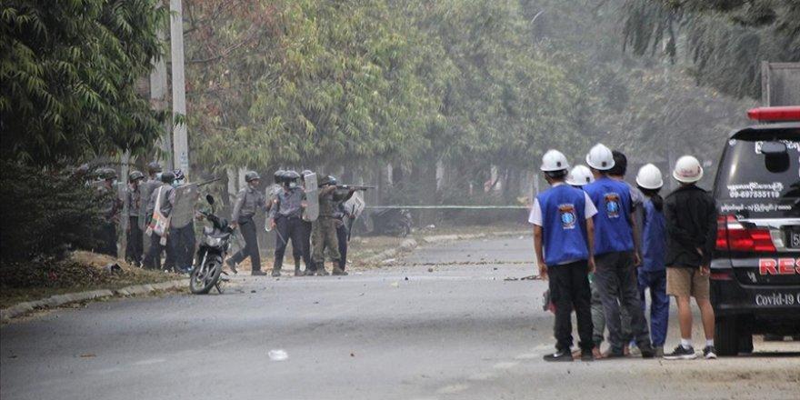 Myanmar'da darbeci güçlerin şiddeti sonucu ölen sivillerin sayısı 598'e çıktı