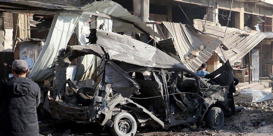 Katil Esed güçleri İdlib'de sivillere saldırdı: 4 ölü