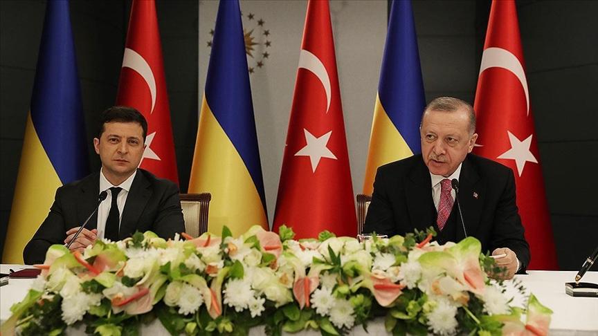 Cumhurbaşkanı Erdoğan: Ukrayna'nın toprak bütünlüğünü ve egemenliğini savunduk