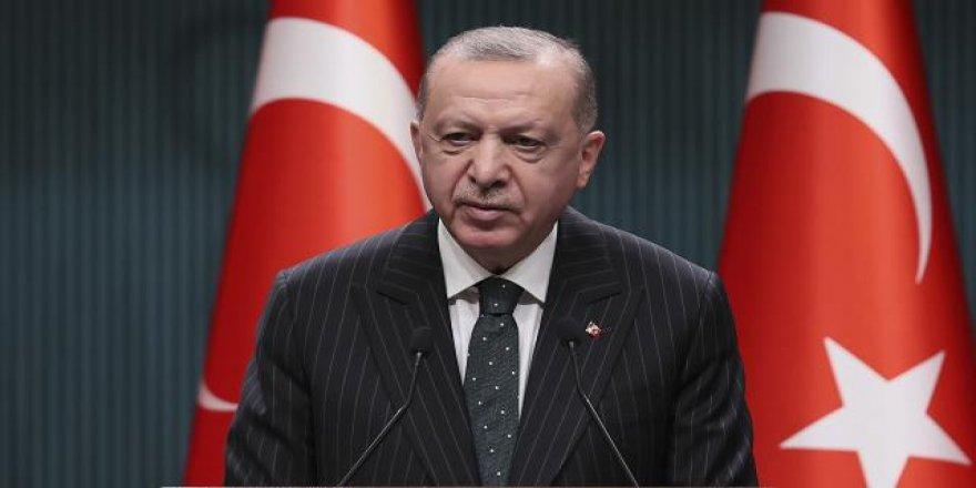 Erdoğan: Kısmi kapanma uygulamasına geçiyoruz