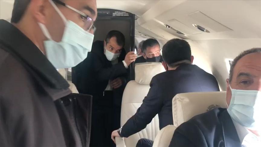 Bakan Pakdemirli'nin uçağı arızalanınca Malatya'ya acil iniş yaptı