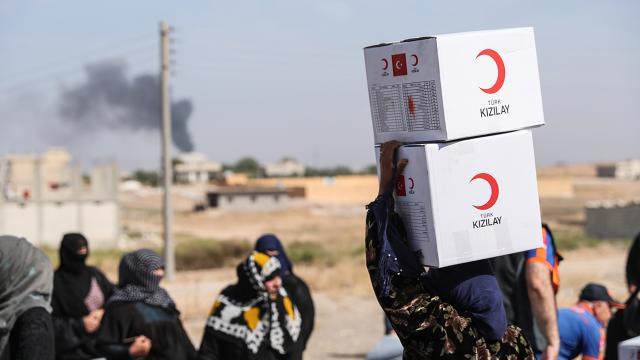 Türk Kızılay'dan Gazze'de ihtiyaç sahipleri için aşevi