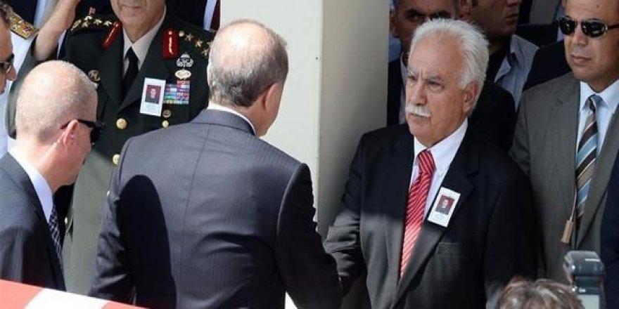 Davutoğlu: Erdoğan, Perinçek'i finanse ediyor!
