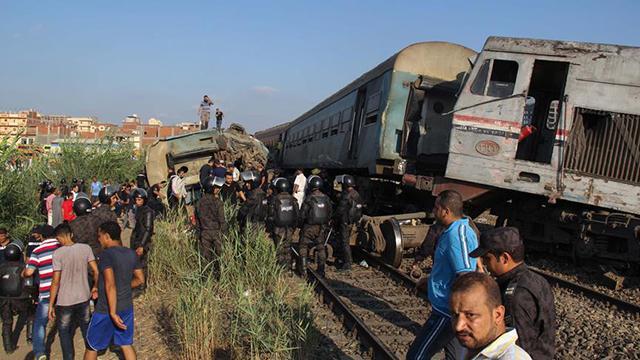 Mısır'da 2002'den bu yana tren kazalarında 542 kişi öldü