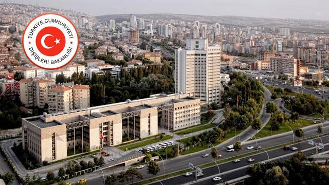 Türkiye'den Siyonist İsrail'e tepki