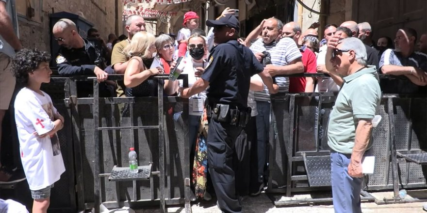 Siyonist İsrail'den Hıristiyanların ayinine engelleme