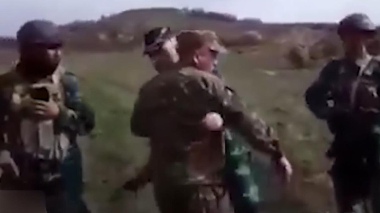 Ermenistan askerlerinin provokasyon girişimi kamerada