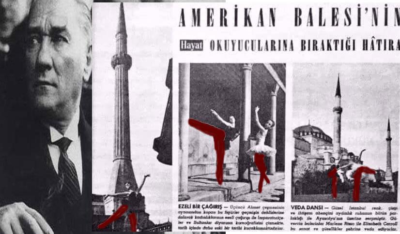 Kemalizm'i özetleyen en iyi görsel: Camide dans