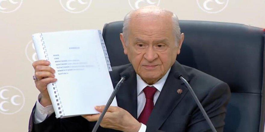 MHP'nin 'yeni' anayasa önerisi ne kadar yeni?
