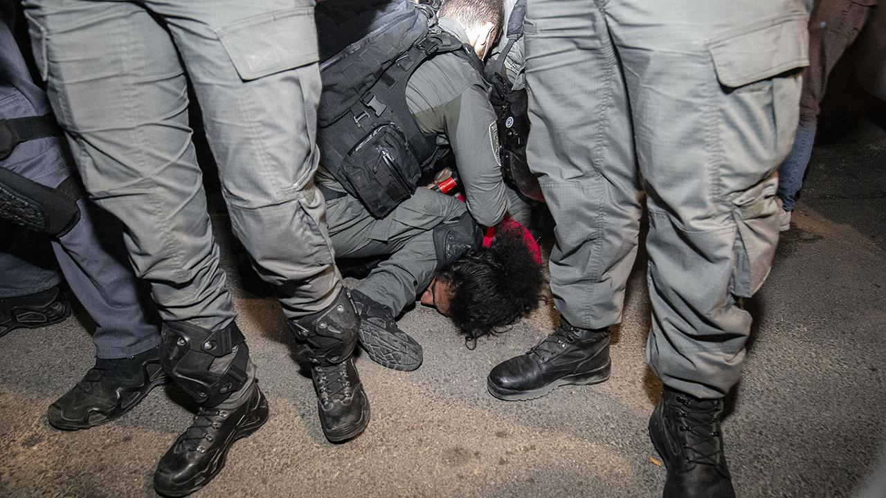 Mescid-i Aksa'da Siyonist İsrail terörü sürüyor