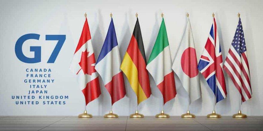 G7 Dışişleri Bakanları'ndan Çin'e Uygur eleştirisi