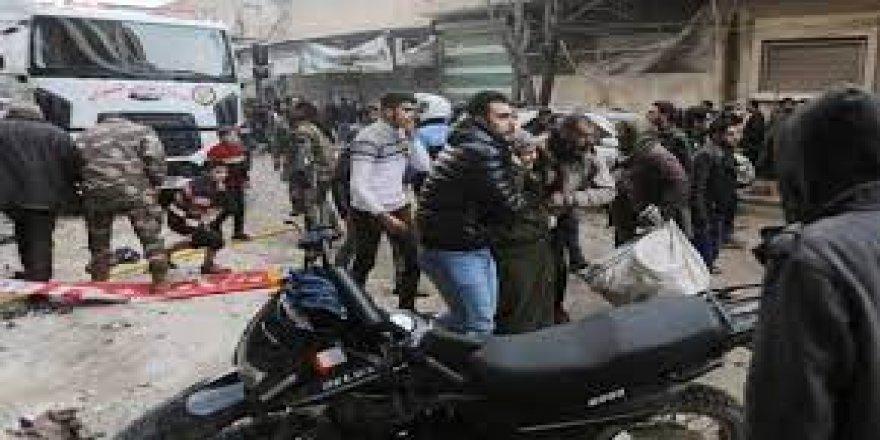 Azez'de iftar öncesi saldırı