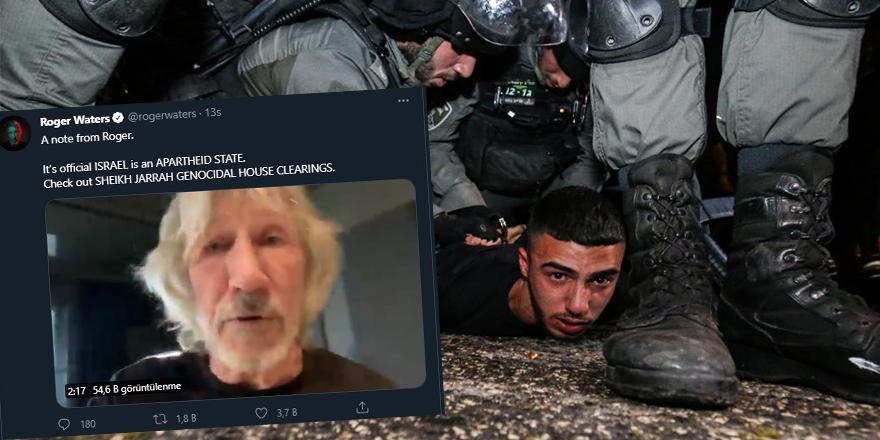"""Pink Floyd'un solisti: """"İsrail bir apartheid rejimidir!"""""""