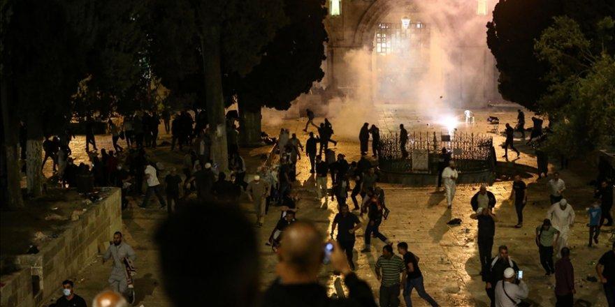 Ürdün: İsrail'in Mescid-i Aksa'da ibadet edenlere yönelik saldırısı barbarca