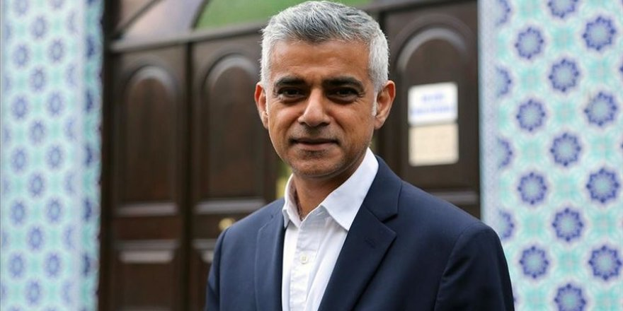 Londra belediye başkanlığına üst üste 2. kez Müslüman kökenli aday Sadık Han getirildi