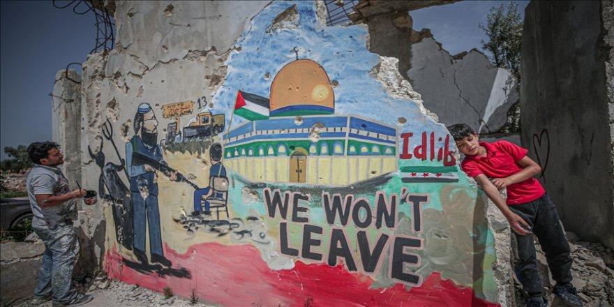 Suriyeli yetimlerden Kudüs için dua!