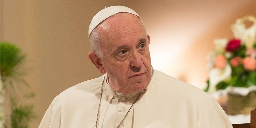 Papa Franciscus: Kudüs'te yaşanan gelişmeleri endişeyle takip ediyorum