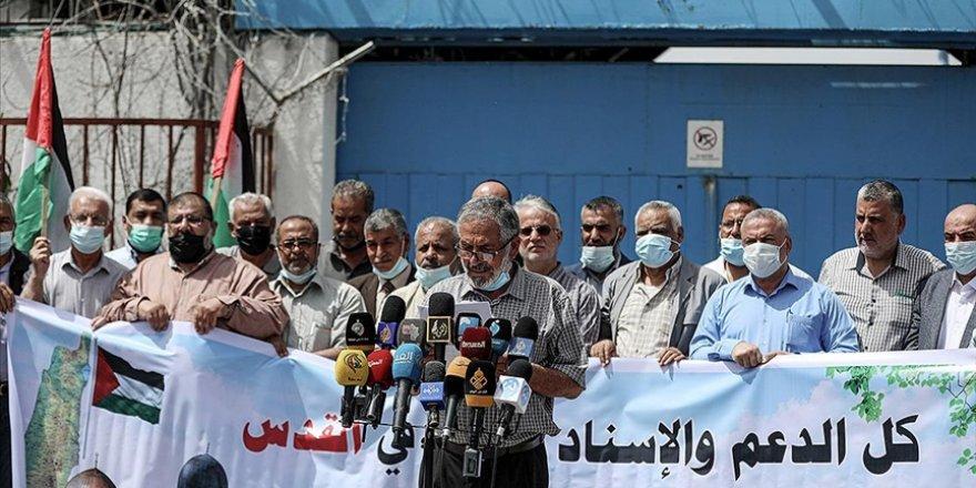 Gazzelilerden Kudüs'le dayanışma eylemi