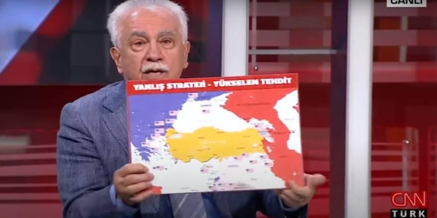 Şebbiha Perinçek CNN Türk ekranında Esed katiline övgü yağdırdı