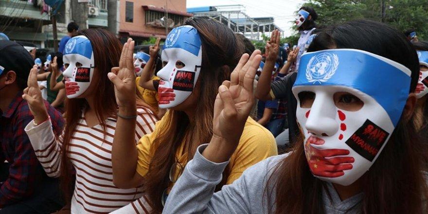 Myanmar'da darbecilerce öldürülen sivil sayısı 780'e çıktı