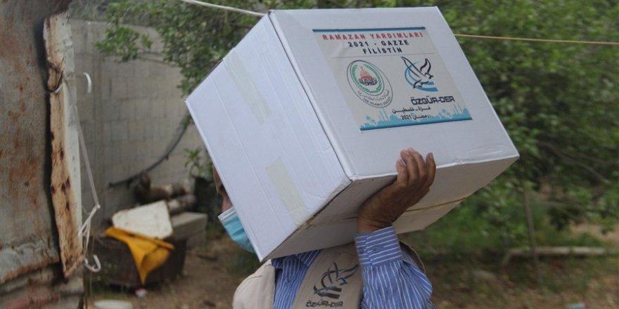 Özgür-Der'den Gazze'ye kumanya desteği