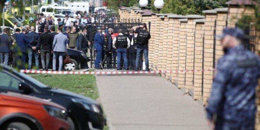 Rusya'da okula silahlı saldırı