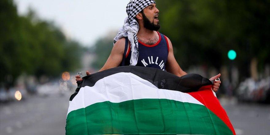 Washington sokaklarında binlerce kişi Filistin için yürüdü