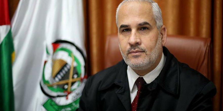 İran budur! Hamas sözcüsünün konuşmasını çarpıttılar
