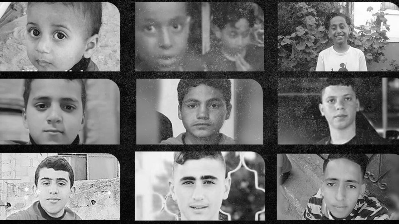 Siyonist İsrail terörünün çocuk şehitleri