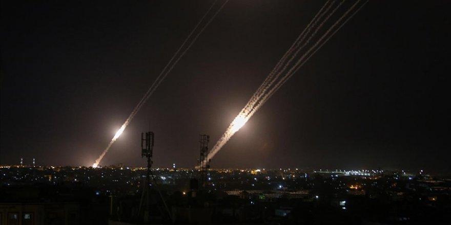 Gazze'den atılan roketler ilk kez Siyonist İsrail'in kuzeyindeki bölgelere kadar ulaştı