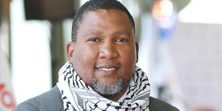 Mandela'nın torunundan Filistinlilere destek