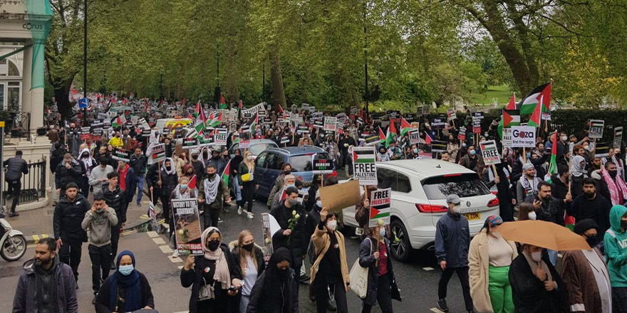 Avrupa'da toplumlar Filistin'e destek verirken devletler suskun kalıyor!