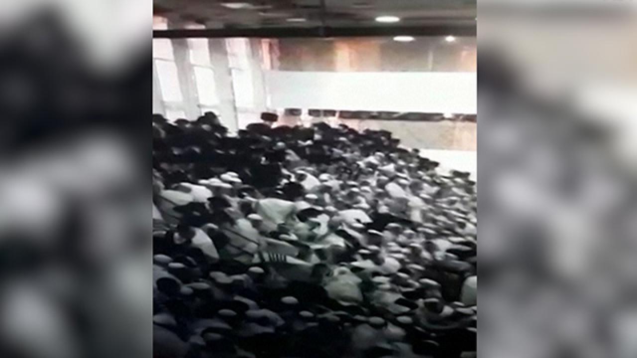 Kudüs'te bir sinagogda tribün çöktü: Ölü ve yaralılar var