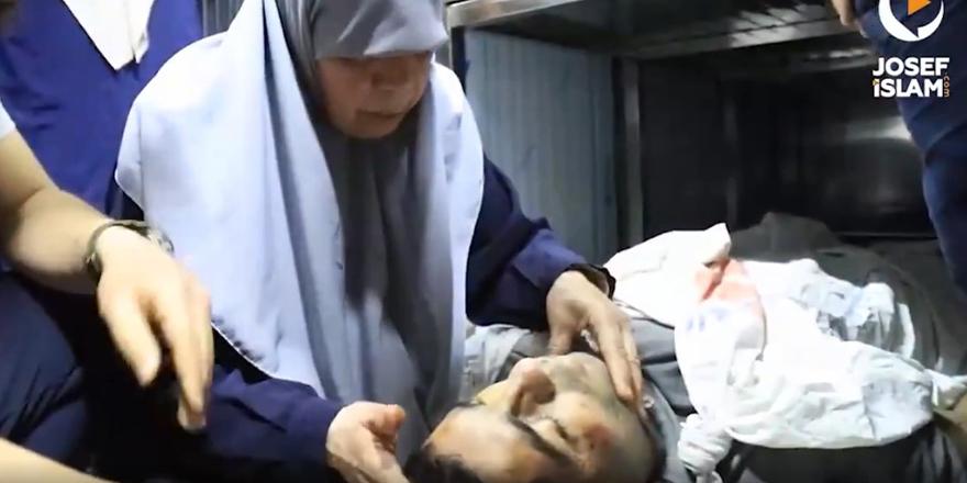 Gazzeli şehit annesi: Benden önce Rabbine kavuştu
