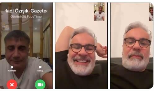 Sedat Peker, Hadi Özışık ile görüşmesinin videosunu yayınladı