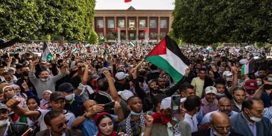Fas Başbakanı Osmani Hamas'ı tebrik etti