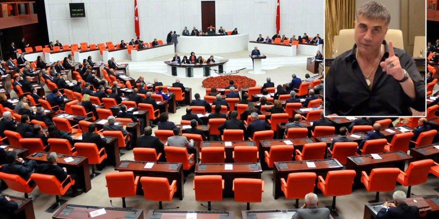 AK Parti ve MHP'den Peker'in iddiaları araştırılsın önergesine ret