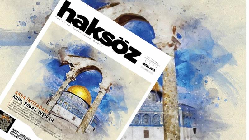 Haksöz dergisinin Mayıs-Haziran 2021 sayısı çıktı