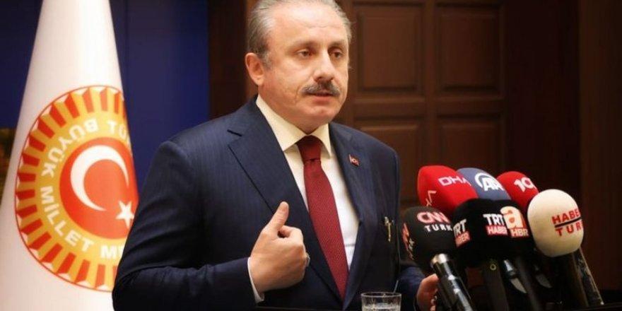 TBMM Başkanı Mustafa Şentop, İçişleri Bakanı Süleyman Soylu'ya 10 bin dolar iddiasını sordu