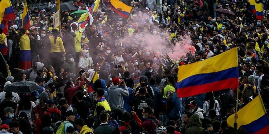 Kolombiya'daki gösterilerde ölü sayısı 58'e yükseldi