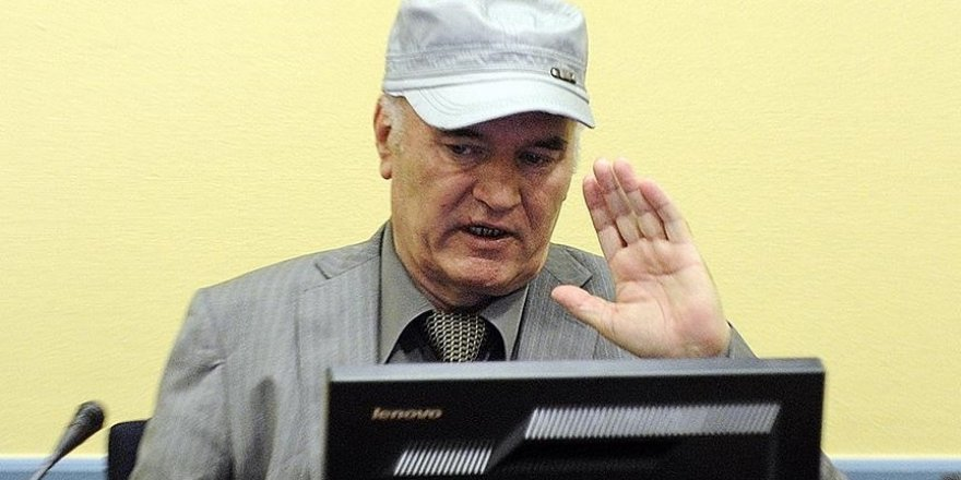 'Bosna Kasabı' Ratko Mladic'in müebbet hapis cezası onandı