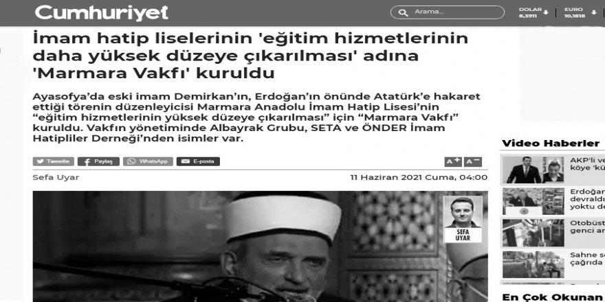 Her işi Mustafa Demirkan'a bağlamaucuzluğu!