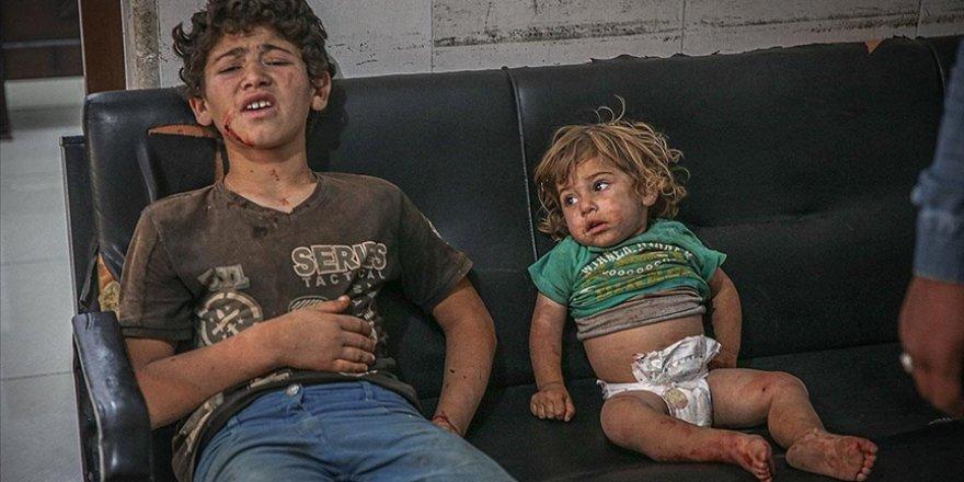 İşgalci Rusya İdlib'de sivillere saldırdı