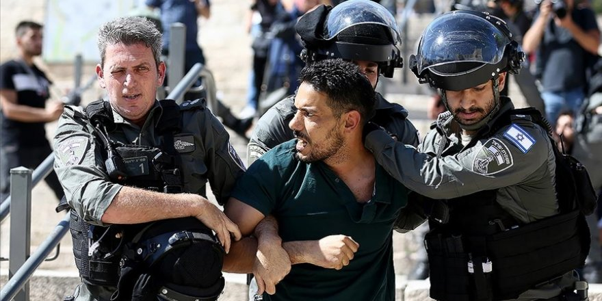 İşgal güçleri Mayıs'ta 3 bin 100 Filistinliyi gözaltına aldı