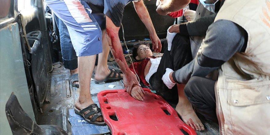 Esed rejiminin İdlib'e saldırısında 3 sivil yaralandı