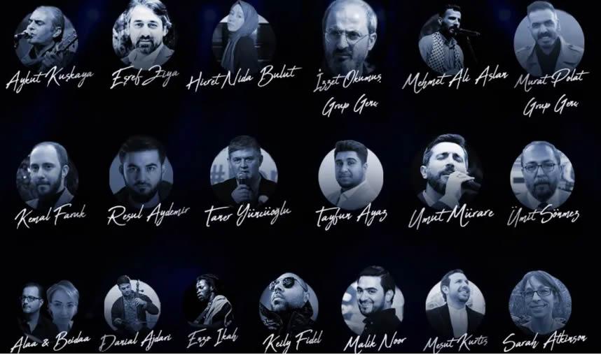 Müzisyenler Dünya Mülteciler Günü Konserinde buluşacak