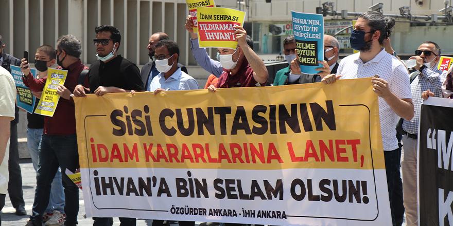 Mısır'daki idam kararları Ankara'da telin edildi
