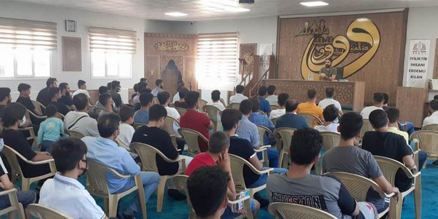 Diyarbakır'da 'Sefer kitabı ve İslam coğrafyası' söyleşisi gerçekleştirildi