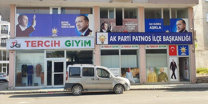 Ağrı'da AK Parti Patnos İlçe Başkanlığı binasına saldırı girişimi