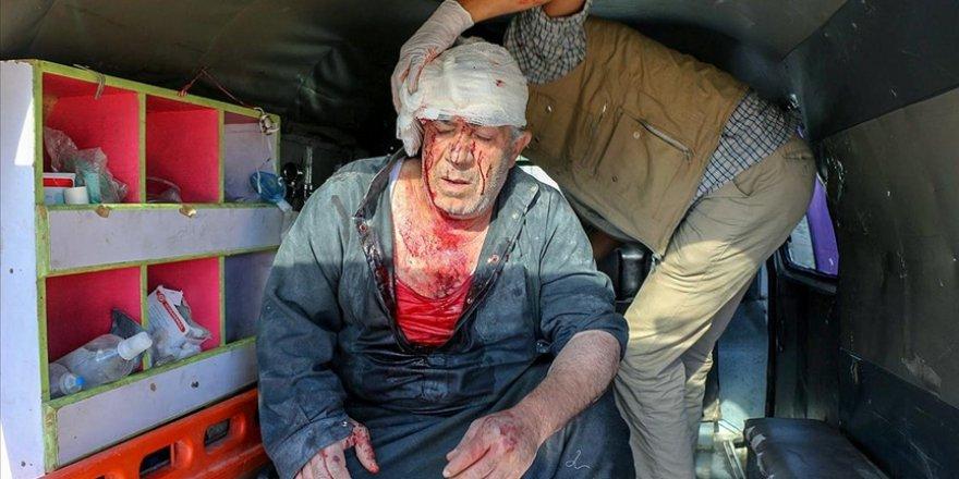 İdlib'e saldıran katil Esed rejimi 7 sivili katletti